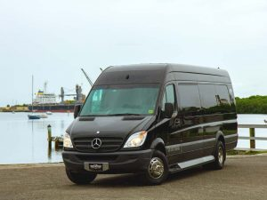 The Benz Party Bus in Tampa