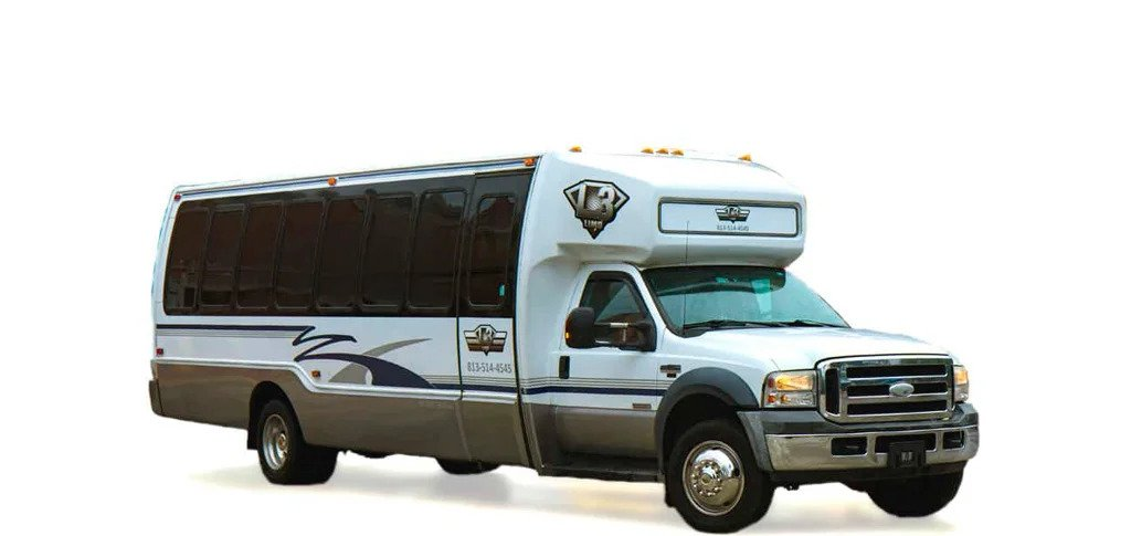 party bus tampa and limo bus service fl -  the deluxe party bus