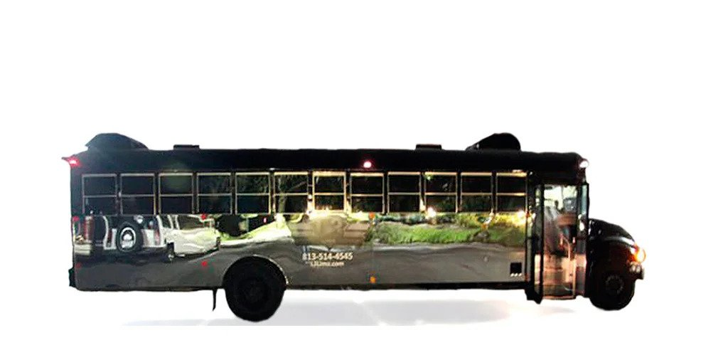 party bus tampa and limo bus service fl - the prison bus party bus